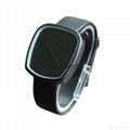 新款石英表简约设计皮带表鹅卵石形状手表 2