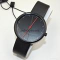 新款紅點手錶男女式石英表簡約歐美風大表盤皮帶表 3