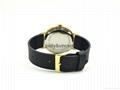 宝丽文森新款手表男女士简约石英表商务休闲皮带表 5