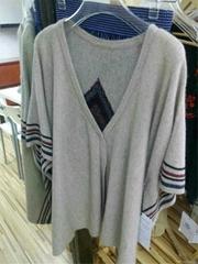 100% Cashmere Intarsia Sweater Women
