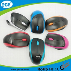 New Arrival USB Interface Type 2.4GHz Mini Computer Mouse Wireless Mouse for PC