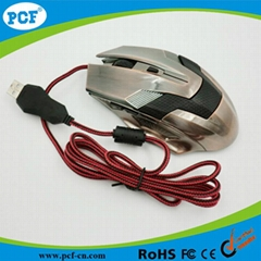 Wholesale USB 6D optical wired laser gaming mouse