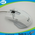Top selling gaming mouse with led light 6D game mouse 3