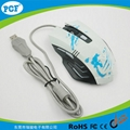 Top selling gaming mouse with led light 6D game mouse 2