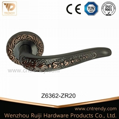 Fashion Design Zinc Alloy Zamak Door Lever Handle (Z6363-ZR05)
