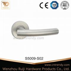 Manufacturer Hollow Tube Lever Stainless Steel Door Lock Handle (S5035)