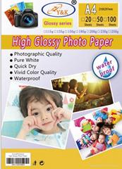 135g sticker glossy photo paper