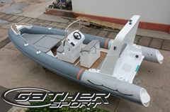 rigid inflatable boat 6.8m for sale