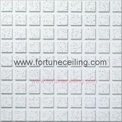 Groove/liner mineral fiber board