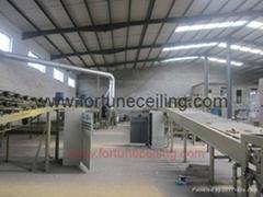 低密度矿棉板生产线