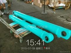excavator hydraulic cyli