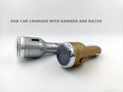 CAR CHARGER,CAR CHARGER WITH RAZOR