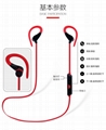 bluetooth headset,wireless stero sport blueth earphone 5