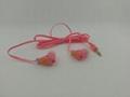 Gift earphone,cartoon earphone,silicone earphone