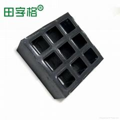 田字格玻璃鋼重磅格柵 G5027高強度抗壓  石油溝蓋板