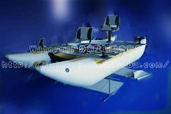 4米5双体铝合金路亚艇
