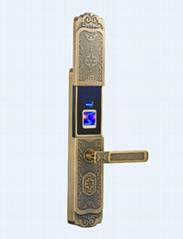 供應德蒙金盾指紋鎖D1青古銅