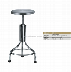stainless steel surgical stool China factory