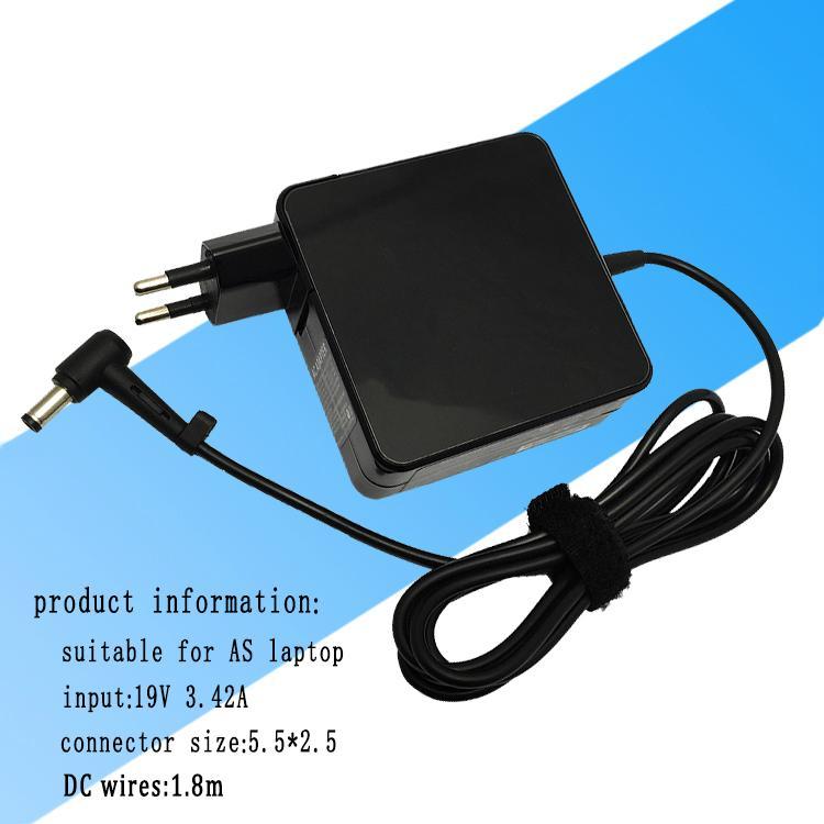 华硕笔记本电源适配器 65w 19v 3.42a 超级本电源充电器 1