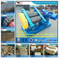 Diesel Engine Rubber Crepe Machine Rubber Sheeting Making Machine