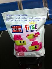 Custom laminated zipper bag ziplock bag for snack