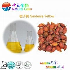 natural food color gardenia yellow