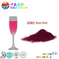 natural food color/colour beet red