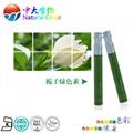 natural food color/colour gardenia green