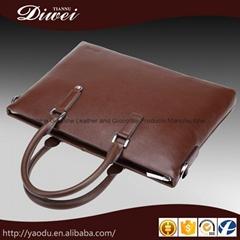 Guangzhou genuine leather men handbag wholesale
