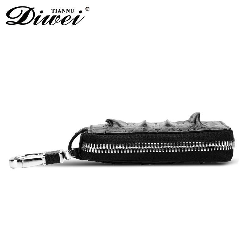 Genuine leather car key bag factory 3