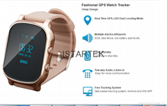 realtime tracking simcard watch gps  tracker