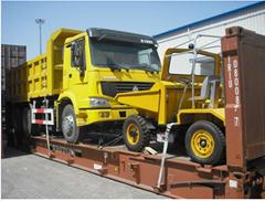 machine and heavy equipment shipping