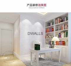 The new design of the polyethylene foam waterproof soft wall stickers