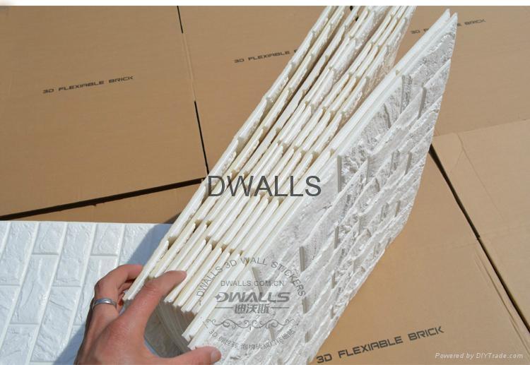 3d brick wallpaper panels