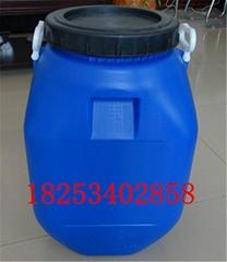螺旋蓋50公斤塑料桶開口50KG方桶50L圓桶