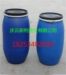 藍色圓150公斤塑料桶