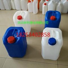 方形10公斤塑料桶小口10L方桶