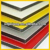 aluminum composite material with PE