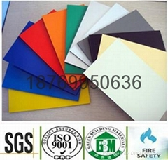 Strong longlife and movable Interior decorative aluminum composite panel