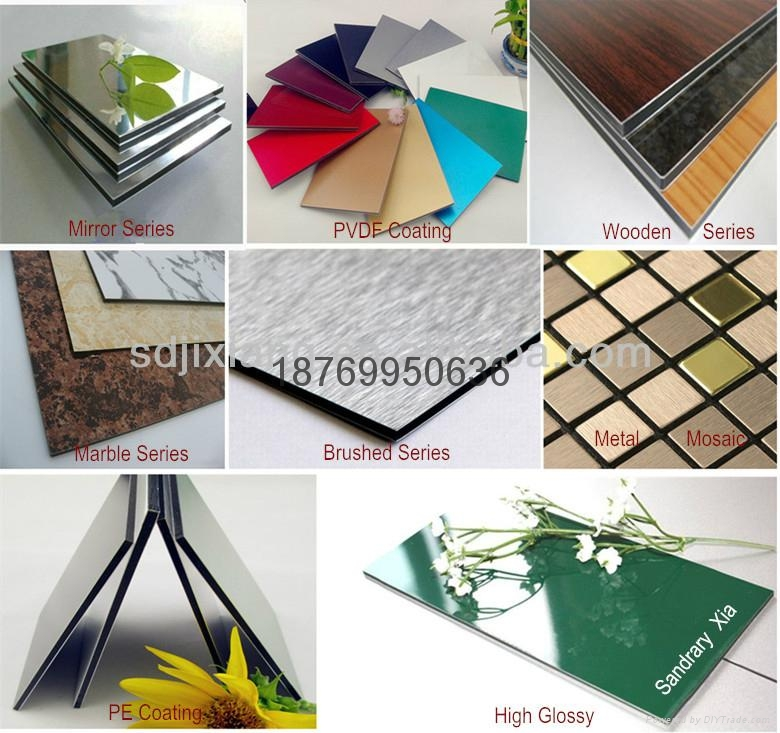 PVDF Coating Aluminum Composite Panel For Decoration 4