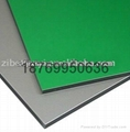 Post Green Color aluminum composite