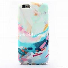 Custom Design IMD Phone Case Full Cover TPU Phone Case Wholesale - Oil Painting