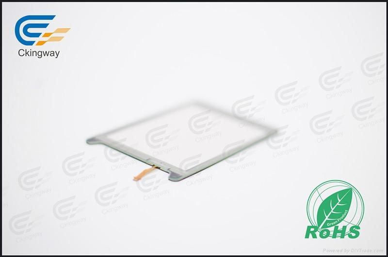 Interactive resistive touch glass panel  1