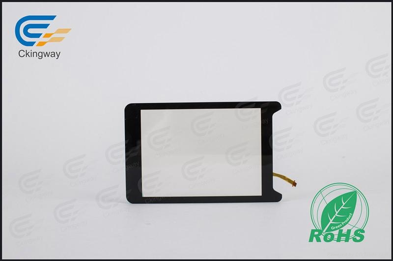 Interactive resistive touch glass panel  2