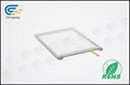 Interactive resistive touch glass panel  3
