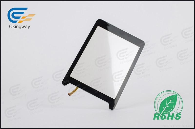Interactive resistive touch glass panel  4