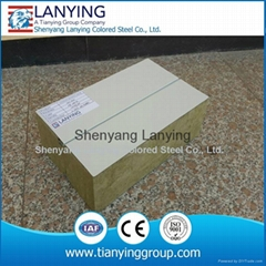 competitive price Zlock EPS Rockwool/Glasswool sandwich panel