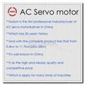 AC servo  motor driver 110ST-M06020LFB  1.2kw 6N 220v 2500C/T