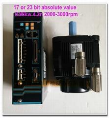 華大總線絕對值電機配新代寶元等總線系統110ST-M0422030LM1DD 0.88KW 4.2N