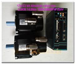 华大总线电机驱动 代替安川总线 配新代宝元130ST-M1461520LM1DD 2.3KW 14.6N 雕铣用